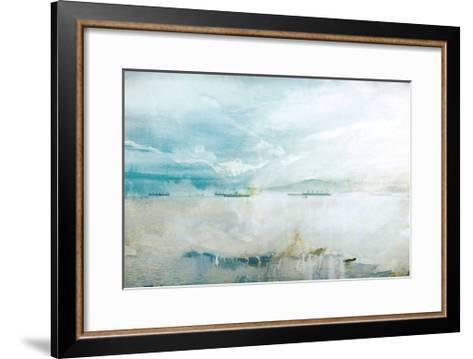 Misty English Bay-GI ArtLab-Framed Art Print