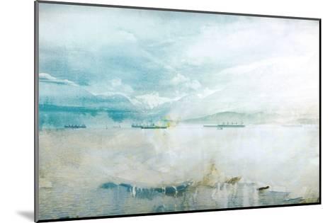 Misty English Bay-GI ArtLab-Mounted Premium Giclee Print