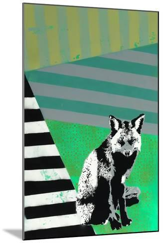 Black Fox-Urban Soule-Mounted Premium Giclee Print
