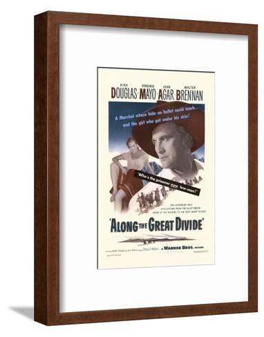 Along the Great Divide--Framed Art Print