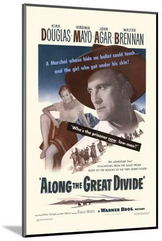 Along the Great Divide--Mounted Art Print
