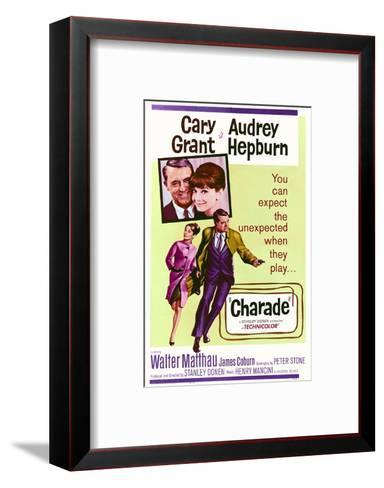 Charade--Framed Art Print