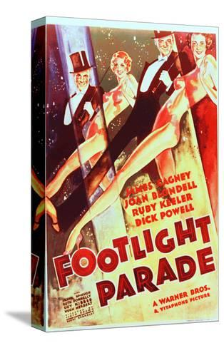 Footlight Parade--Stretched Canvas Print