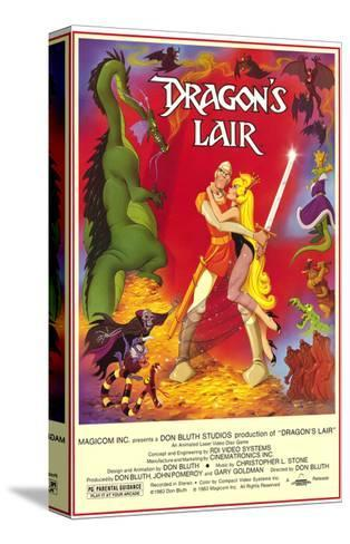 Dragon's Lair--Stretched Canvas Print