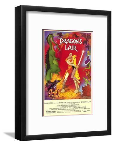 Dragon's Lair--Framed Art Print
