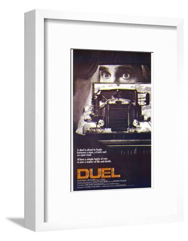 Duel--Framed Art Print