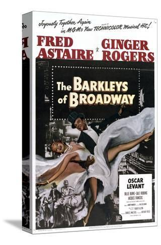 The Barkleys of Broadway--Stretched Canvas Print
