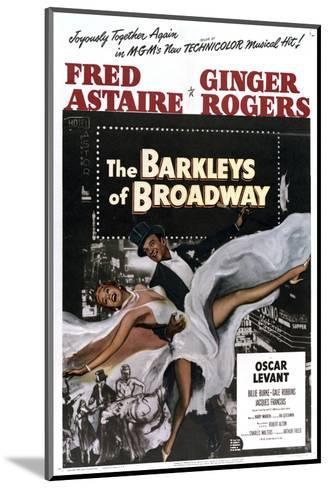 The Barkleys of Broadway--Mounted Art Print