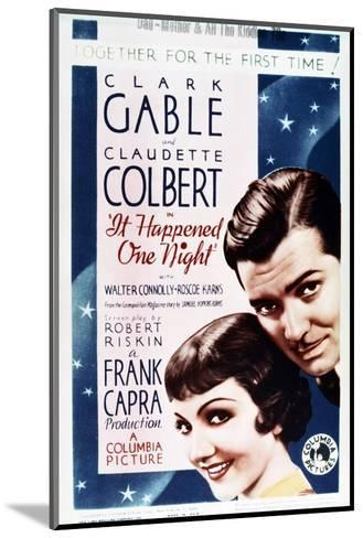 It Happened One Night--Mounted Art Print