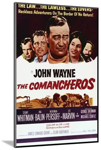 The Comancheros--Mounted Art Print