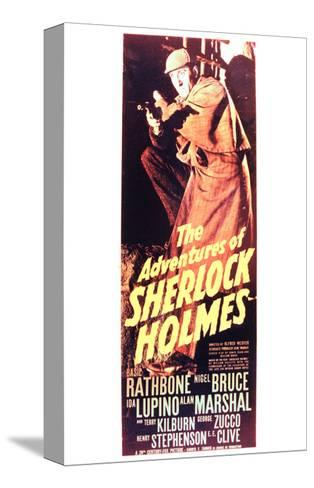 The Adventures of Sherlock Holmes--Stretched Canvas Print