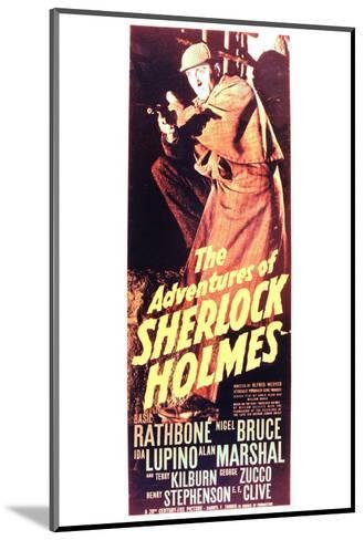 The Adventures of Sherlock Holmes--Mounted Art Print