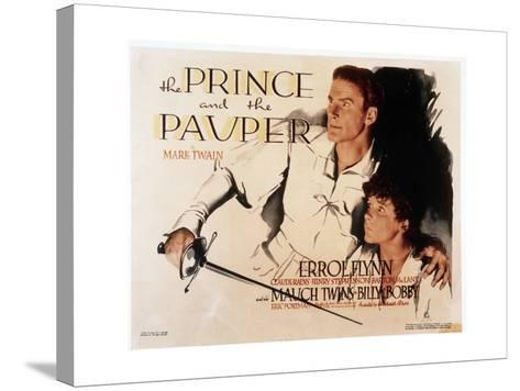 The Prince and the Pauper--Stretched Canvas Print
