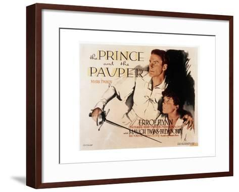 The Prince and the Pauper--Framed Art Print