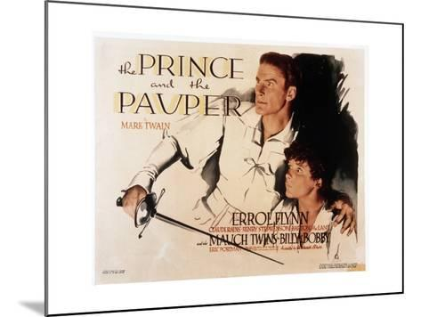 The Prince and the Pauper--Mounted Art Print