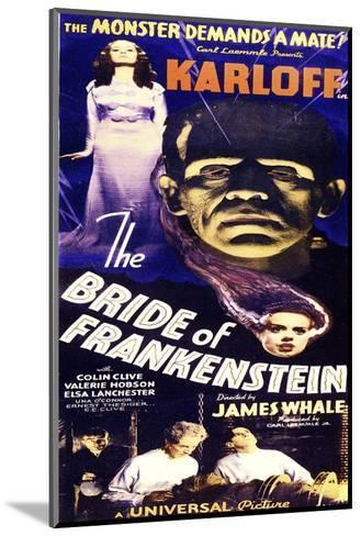 Bride of Frankenstein--Mounted Art Print