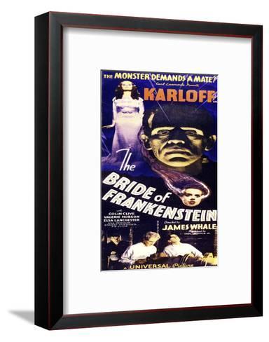 Bride of Frankenstein--Framed Art Print