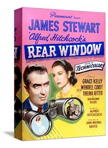 Rear Window--Stretched Canvas Print