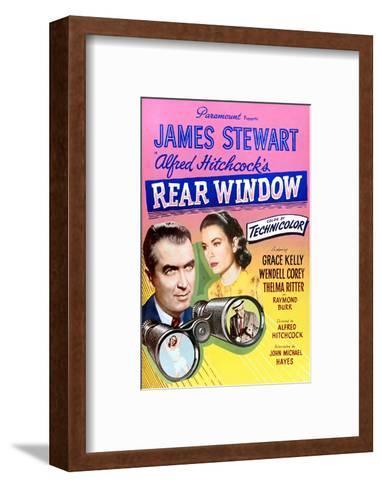 Rear Window--Framed Art Print