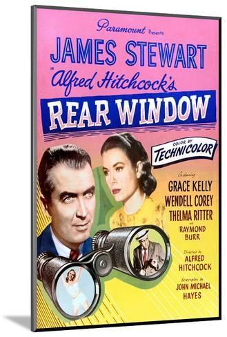 Rear Window--Mounted Art Print