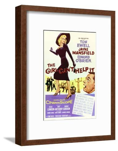 The Girl Can't Help It--Framed Art Print