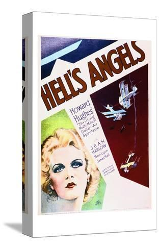 Hell's Angels--Stretched Canvas Print