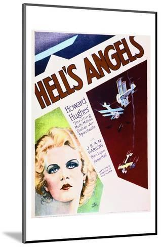 Hell's Angels--Mounted Art Print