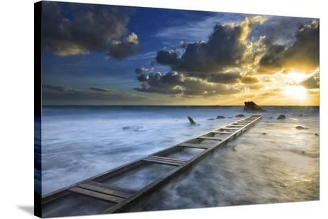 Sunset-Marco Carmassi-Stretched Canvas Print