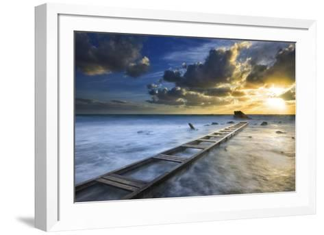 Sunset-Marco Carmassi-Framed Art Print