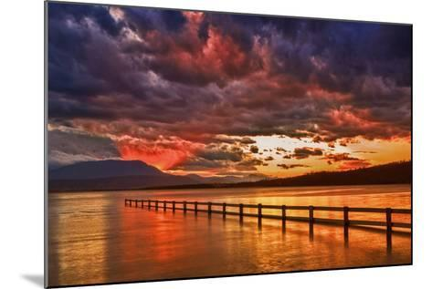 Mortimer Bay Sunset-Margaret Morgan-Mounted Photographic Print