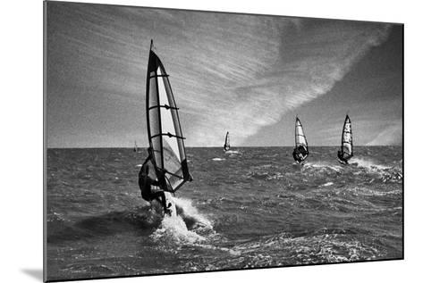 Racing Surfers-Adrian Campfield-Mounted Photographic Print