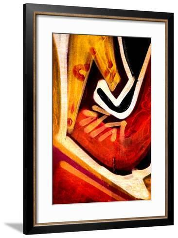 Tribal 2-Ursula Abresch-Framed Art Print