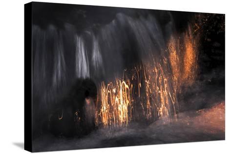 Water Scribbles 2-Ursula Abresch-Stretched Canvas Print