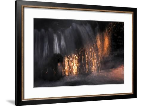 Water Scribbles 2-Ursula Abresch-Framed Art Print
