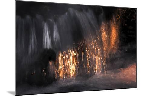 Water Scribbles 2-Ursula Abresch-Mounted Photographic Print