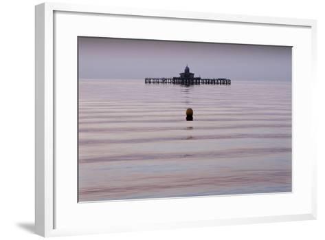 Old Pier, Herne Bay-Adrian Campfield-Framed Art Print