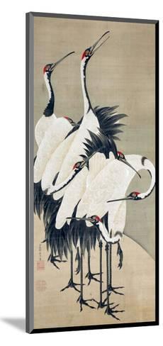 Seven Cranes-Jakuchu Ito-Mounted Giclee Print