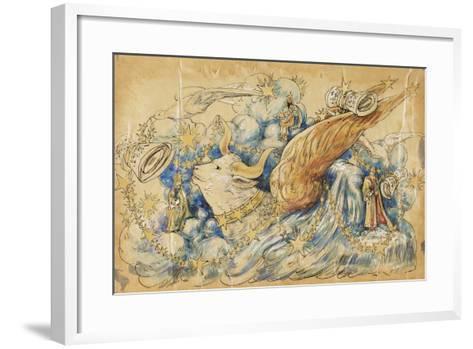The Koran 1910 New Orleans Float Designs-Jennie Wilde-Framed Art Print