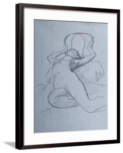 They Try to Pull Me Away-Nobu Haihara-Framed Art Print
