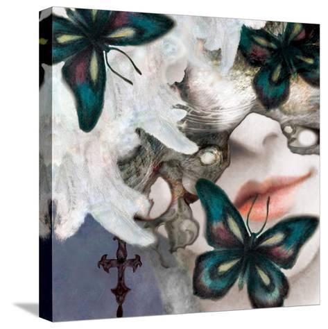 Menash-Meiya Y-Stretched Canvas Print