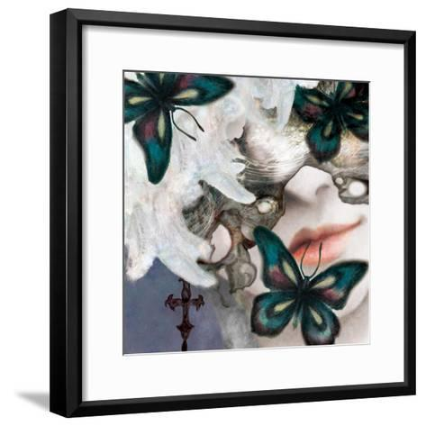 Menash-Meiya Y-Framed Art Print