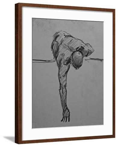 Without Ever Reaching Satisfaction-Nobu Haihara-Framed Art Print