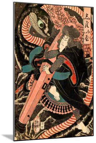 Jiraiya-Yoshitsuya Utagawa-Mounted Giclee Print