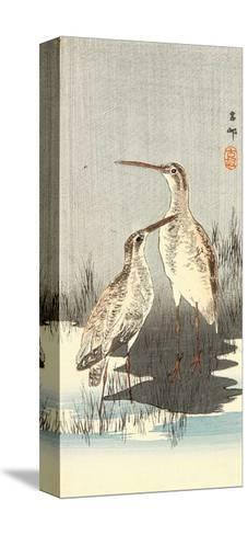 Two Snipes-Koson Ohara-Stretched Canvas Print