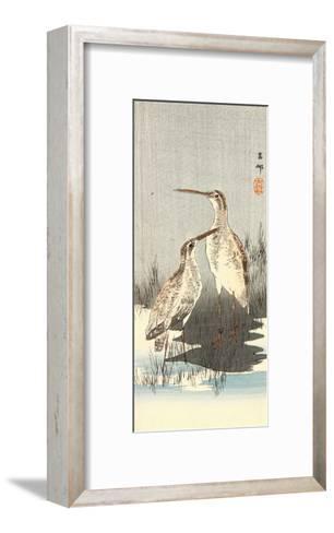 Two Snipes-Koson Ohara-Framed Art Print