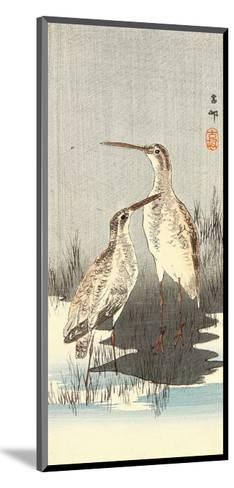 Two Snipes-Koson Ohara-Mounted Giclee Print