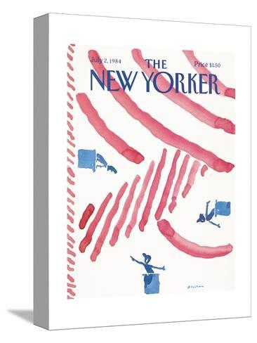 The New Yorker Cover - July 2, 1984-R.O. Blechman-Stretched Canvas Print