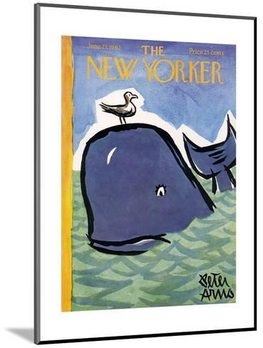 The New Yorker Cover - June 23, 1962-Peter Arno-Mounted Premium Giclee Print