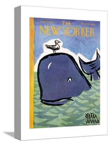 The New Yorker Cover - June 23, 1962-Peter Arno-Stretched Canvas Print