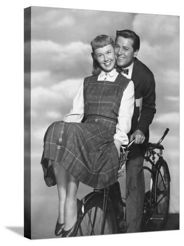 Doris Day, Gordon Macrae, On Moonlight Bay, 1951--Stretched Canvas Print